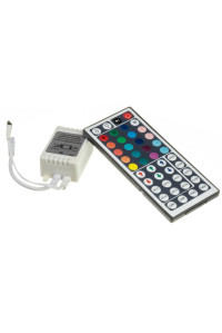 Контроллер для светодиодной ленты RGB 12А 144 Вт, (IR 44 кнопки)