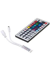 Контроллер мини для светодиодной ленты RGB 6А 72 Вт, (IR 44 кнопки)
