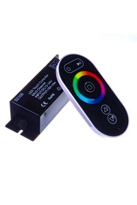 Диммер для светодиодной ленты 24А 288Вт (3 кнопки)