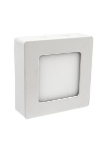 Светодиодный led светильник накладной 6Вт квадрат 4000К IP20