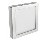 Светодиодный led светильник накладной 12Вт квадрат 4000К IP20