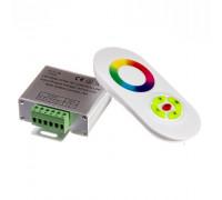 Контроллер белый для светодиодной ленты RGB 18А 216Вт