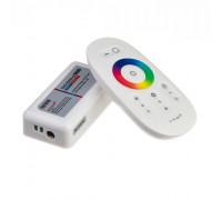 Контроллер белый для светодиодной ленты RGB 18А 216Вт, (8 кнопок)
