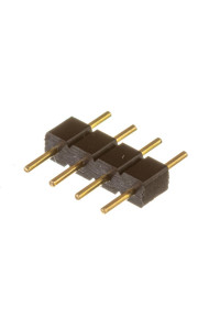 Коннектор для светодиодных лент RGB 10мм (папа+4 pin)