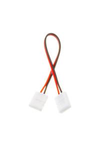 Коннектор для светодиодных лент 10мм (провод+2 зажима)