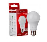 Лед лампа 12Вт Sivio нейтральная белая E27 A60 4100K