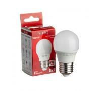 Лед лампа 5Вт Sivio теплая белая E27 G45 3000K