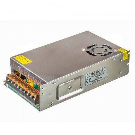 Купить Блок питания 12В MN 33А 400Вт IP 20