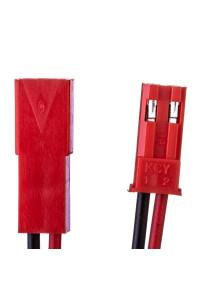 Комплект коннекторов для светодиодных лент папа+мама 2pin красный