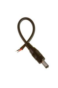 Коннектор для светодиодных лент mini jack 5,5мм (папа )