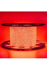 Лед лента 220В красная AVT smd 2835 120led/м 4Вт/м IP65, 1м