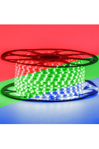 Лед лента 220В RGB smd 5050 5W/m 60led/м IP65, 1м