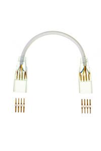 Коннектор для светодиодного неона AVT RGB 220В smd5050 (2 разъема+2 шт. 4pin) с проводом