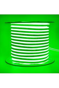 Лед неон 220В зеленый AVT smd2835 120led/м 7Вт/м IP65, 1м