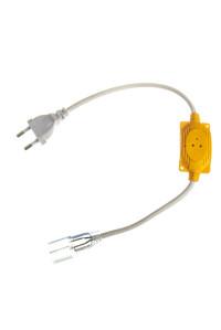 Адаптер для питания светодиодного неона 220В RGB AVT smd 2835-120 led/м + коннектор 2pin