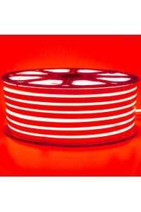 Лед неон 220В красный smd2835 120led/м 12Вт/м IP65, 1м