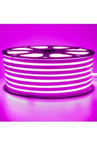 Лед неон 220В фиолетовый smd2835 120led/м 12Вт/м IP65, 1м