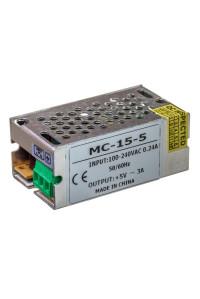 Блок питания 5В MС 3А 15Вт IP 20