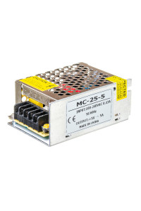 Блок питания 5В MС 5А 25Вт IP 20