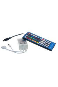 Контроллер для светодиодной ленты RGBW 8А 96 Вт, (IR 40 кнопок)