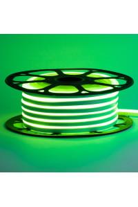 Лед неон 220В зеленый AVT-1 smd2835 120led/м 7Вт/м IP65, 1м