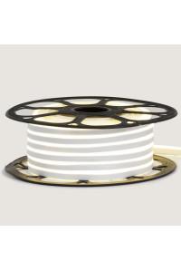 Лед неон 12В белый AVT силикон 120led/м 6Вт/м 6х12 IP65, 1м