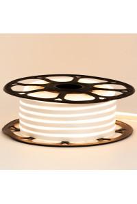 Лед неон 12В белый теплый AVT силикон 120led/м 6Вт/м 6х12 IP65, 1м