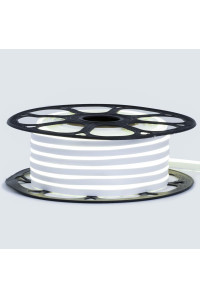 Лед неон 12В белый нейтральный AVT силикон 120led/м 6Вт/м 6х12 IP65, 1м