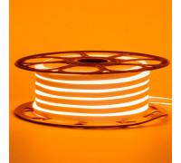 Лед неон 12В оранжевый AVT силикон 120led/м 6Вт/м 6х12 IP65, 1м