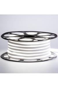 Лед неон 12В белый smd2835 120led/м 6Вт/м 8х16 PVC IP65, 1м