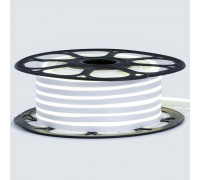 Лед неон 12В белый нейтральный smd2835 120led/м 6Вт/м 8х16 PVC IP65, 1м