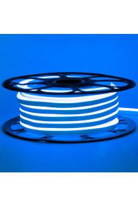Лед неон 12В синий smd2835 120led/м 6Вт/м 8х16 PVC IP65, 1м