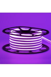 Лед неон 12В фиолетовый smd2835 120led/м 6Вт/м 8х16 PVC IP65, 1м