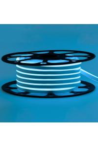 Лед неон 12В голубой smd2835 120led/м 6Вт/м 8х16 PVC IP65, 1м