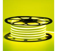 Лед неон 12В лимонный smd2835 120led/м 6Вт/м 8х16 PVC IP65, 1м