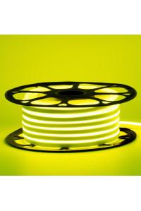 Лед неон 220В лимонный желтый AVT-1 smd2835 120led/м 7Вт/м IP65, 1м