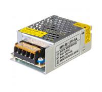 Блок питания 12В MR 3А 36Вт IP 20
