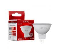 Лед лампа 7Вт Sivio нейтральная белая GU5.3 MR16 4100K