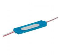 Лед модуль 24В синий 1led COB 2Вт IP65