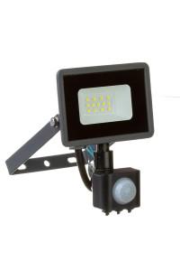 Прожектор светодиодный с датчиком движения AVT 10Вт 6000К IP65