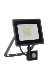 Прожектор светодиодный с датчиком движения AVT 30Вт 6000К IP65