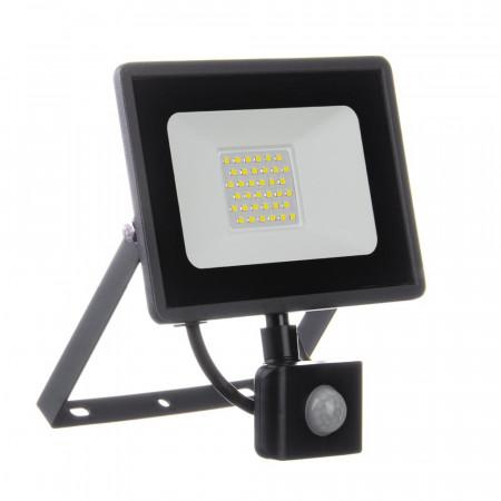 Купить Прожектор светодиодный с датчиком движения AVT 30Вт 6000К IP65