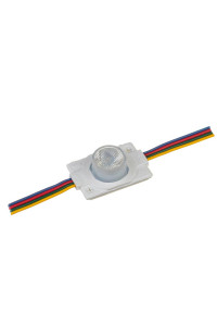 Модуль MTK инжекторный светодиодный RGB 12в smd3030 1LED 1.5Вт герметичный