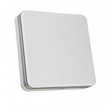 Купить Светодиодный светильник 24 Вт накладной квадратный 5000К IP65 Silver