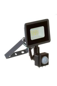 Прожектор с датчиком движения 10W белий холодный AVT-1