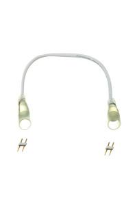 Двусторонний коннектор для круглого неона AVT 220V 2835-120 с проводом